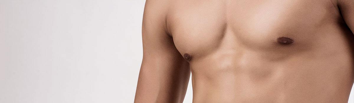 Ginecomastia reducción del pecho efectiva