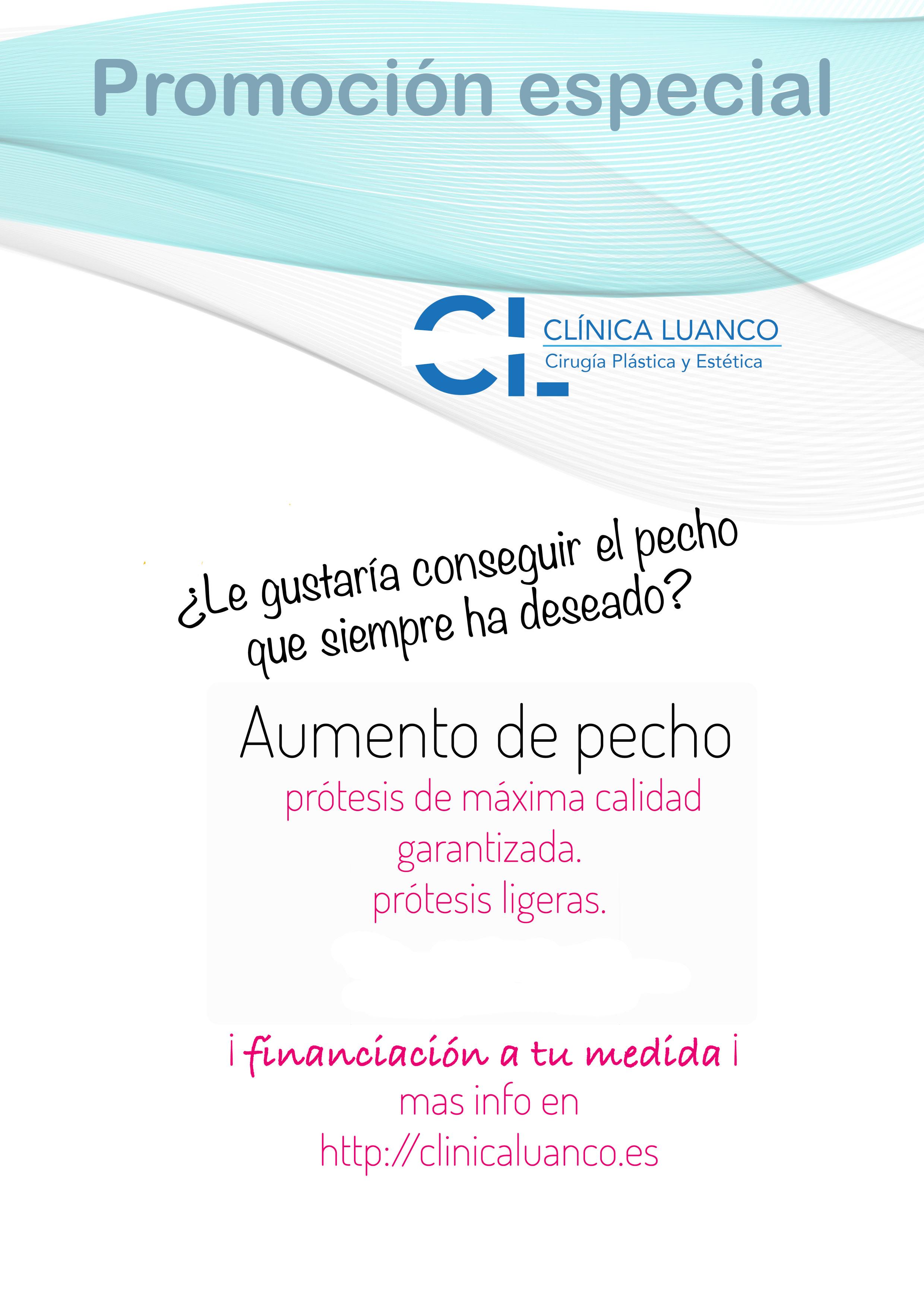 promoción especial cirugía estética