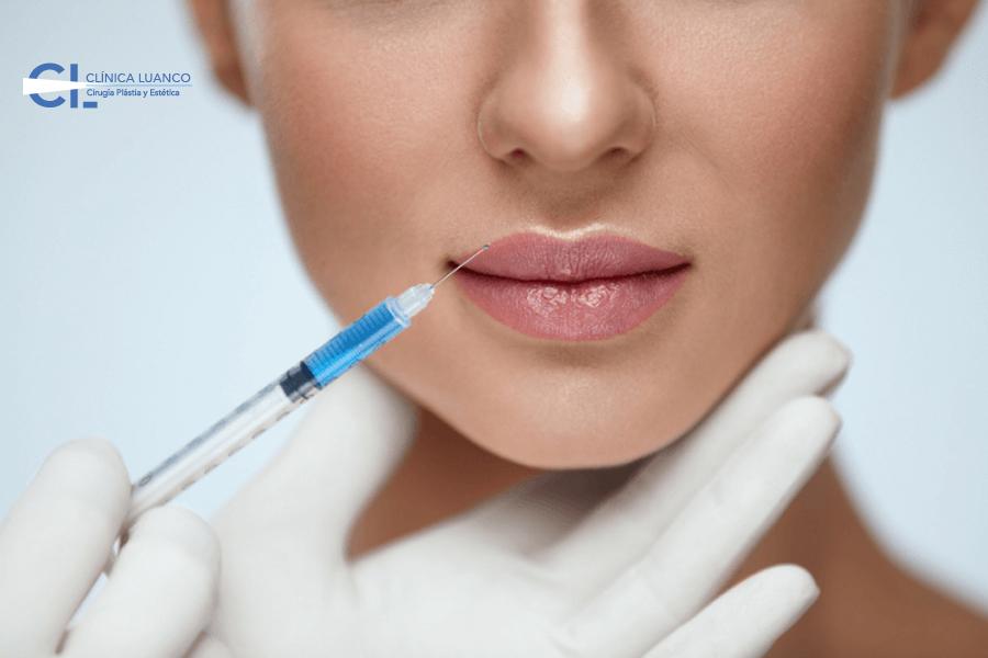 Tratamiento para labios con Ácido Hialurónico